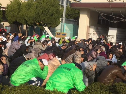 茨木市全域防災訓練(平成29年度)